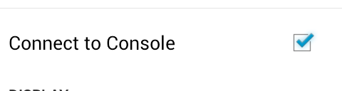 2XConnecttoConsole